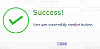Green check mark - Success!